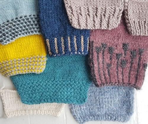 Strik – Skønne kanter med struktur og farvespil